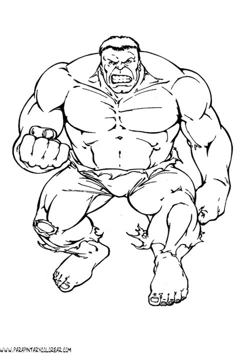 dibujos para pintar hulk dibujos para colorear de hulk la masa 002