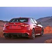 The 2017 Alfa Romeo Giulia Quadrifoglio Is Epitome Of Italian