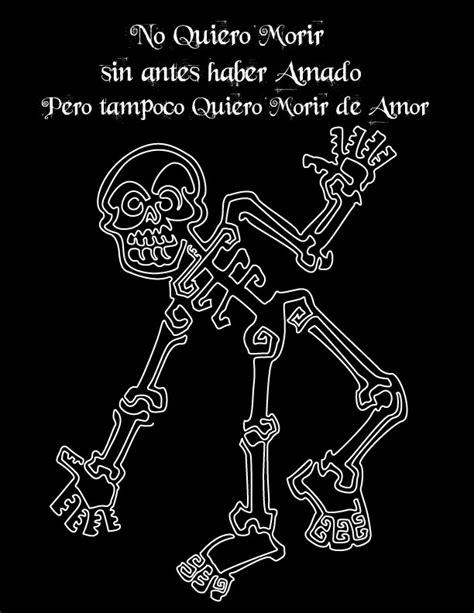 imagenes de calaveras con frases calavera una sola linea by alvareztequihua on deviantart