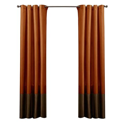 Rust Colored Curtains Designs Rust Curtain Panels Decoist