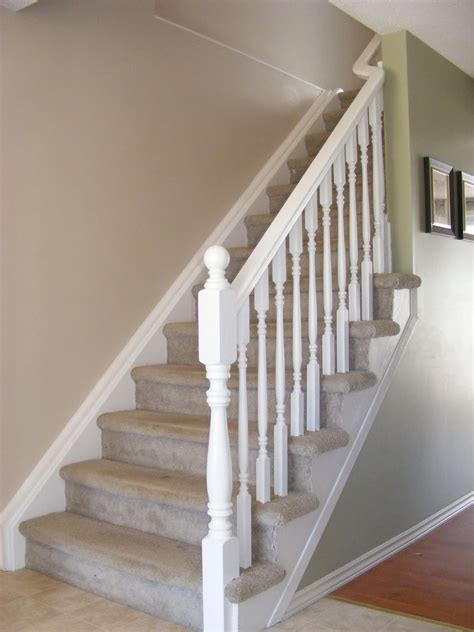 painting wood banister indoor stair railings designs joy studio design gallery