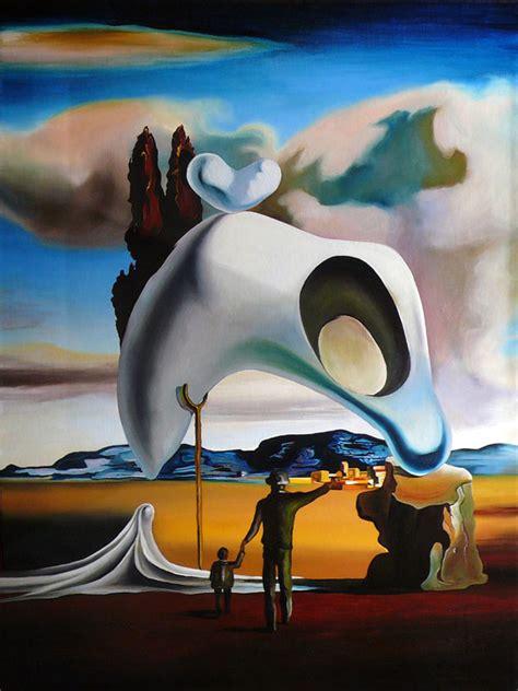 Salvador Dalis Werke by Me Arts Malerei Zeichnung Kopie Michael Ehret
