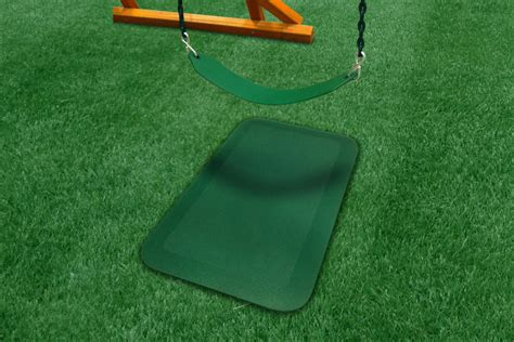 swing mat rubber swing slide mat swingsetmall com