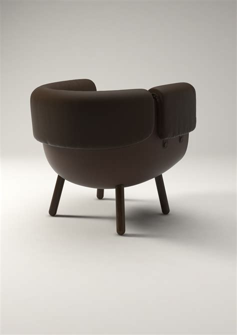 Low C Chair by C Chair Concept For Poltrona Frau Daphna Laurens