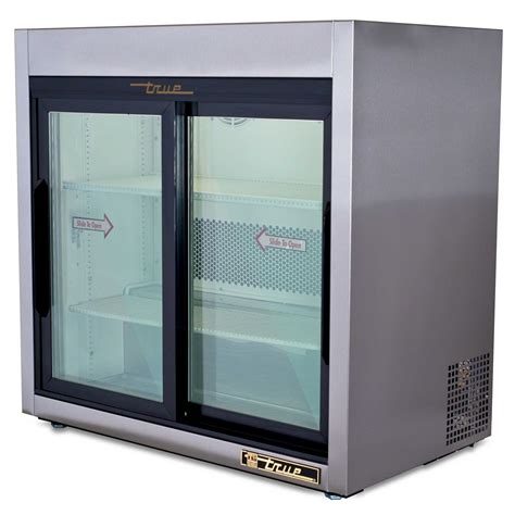Countertop Merchandiser Refrigerator by True Tsd 9g 36 Quot Slide Glass Door Countertop Merchandiser