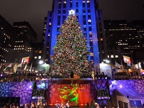 how many lights are on rockefeller christmas tree united states of america images merry from the america wallpaper and background photos