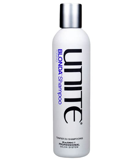 Unite Blonda Toning Shampoo   NaturallyCurly