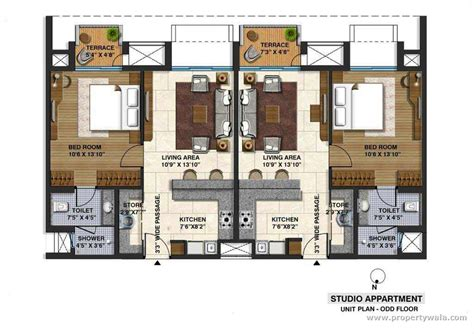 apartment unit floor plans 2 unit apartment floor plans