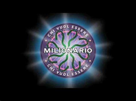 scarica chi vuole essere milionario sigla completa mp3