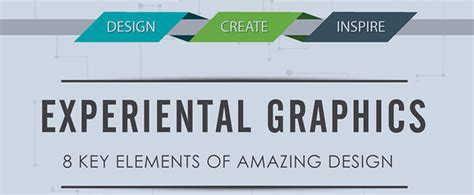 graphic design key elements experiential graphics 8 key elements of amazing design