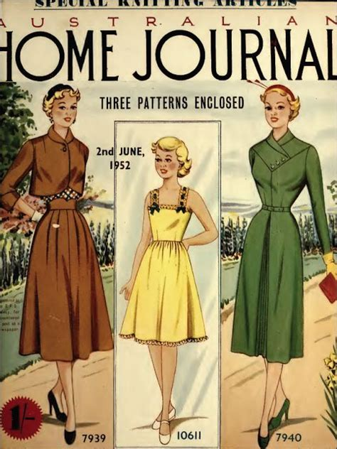 sewing patterns in australia 184 best australian home journal covers and patterns