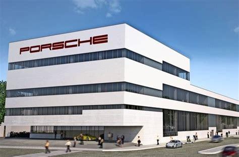 Ausbildung Porsche Stuttgart by Porsche In Zuffenhausen Azubis Bekommen Modernen Neubau