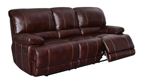 Coffee Leather Sofa Global Furniture Reclining Sofa In Coffee Leather Beyond Stores