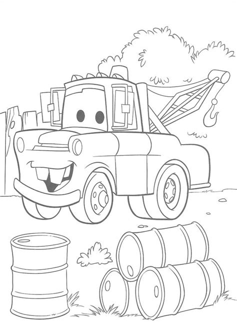 Disney Cars Coloring Pages Printable Best Gift Ideas