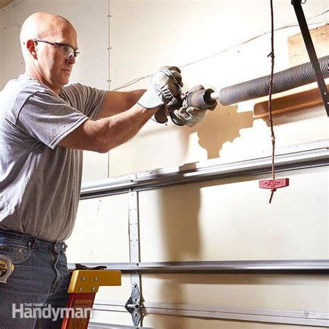Advanced Overhead Door Advanced Garage Overhead Door Repairs The Family Handyman