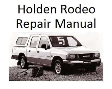 car repair manual download 1997 isuzu rodeo navigation system holden factory service repair manuals