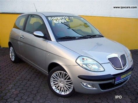 2006 lancia y 1 2 16v oro car photo and specs