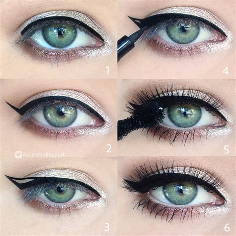 tutorial eyeliner simple easy eyeliner pictorial makeup tutorial makeup geek