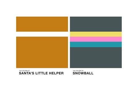The Simpsons 06 the simpsons get the pantone transformation ozonweb by