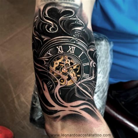 pocket watch tattoos leoacostattoo pocket done by leoacostattoo
