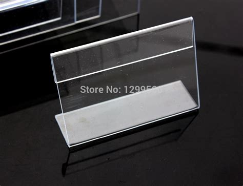 Acrylic Name Table free shipping clear acrylic name table card price tag