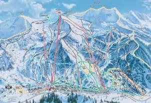 Snowbird Utah Map by Snowbird Ski Resort Map