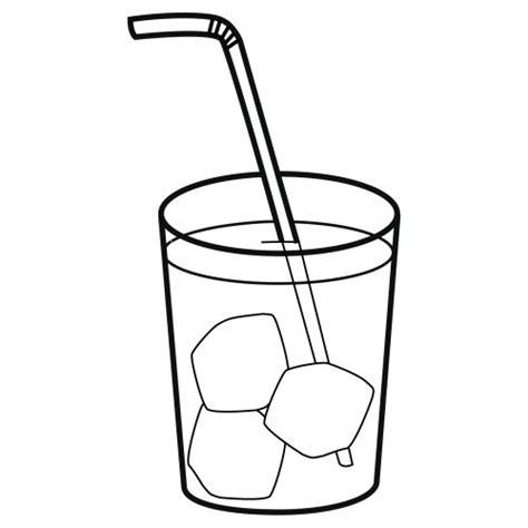 dibujos de bebidas para colorear refresco para colorear imagui