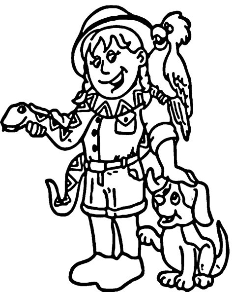 Animal Kingdom Coloring Pages