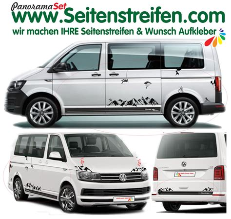 Vw T6 Aufkleber Edition by Vw T5 T6 Edition Mountains Side Stickers Complete Set No