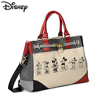 Mickey Handbag collectables jewellery and gifts from the bradford exchange