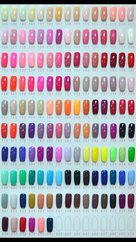 nexgen nails color chart www e nails gr gel color www e nails