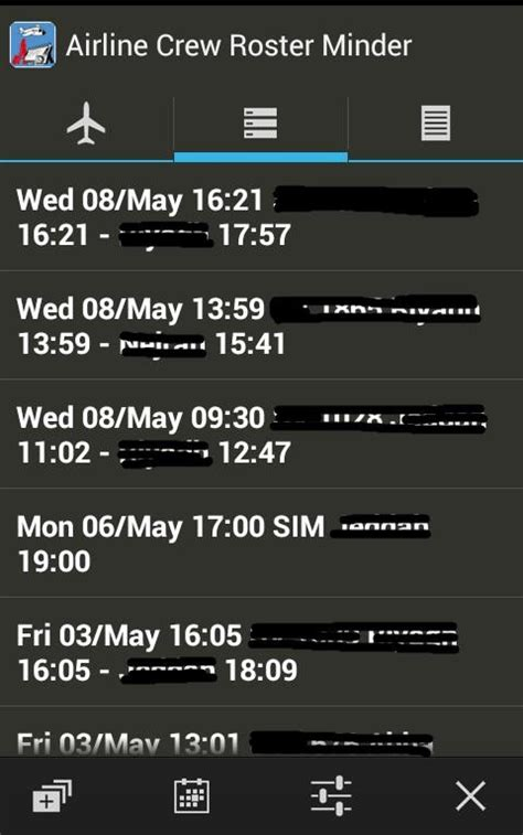 Cabin Crew Roster App by Roster Minder For Airline Crew Android Apps On Play