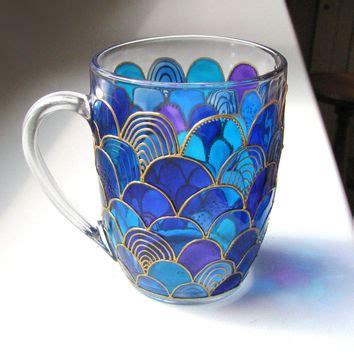 hand painted mug design hand painted coffee mug african style from artmasha on etsy