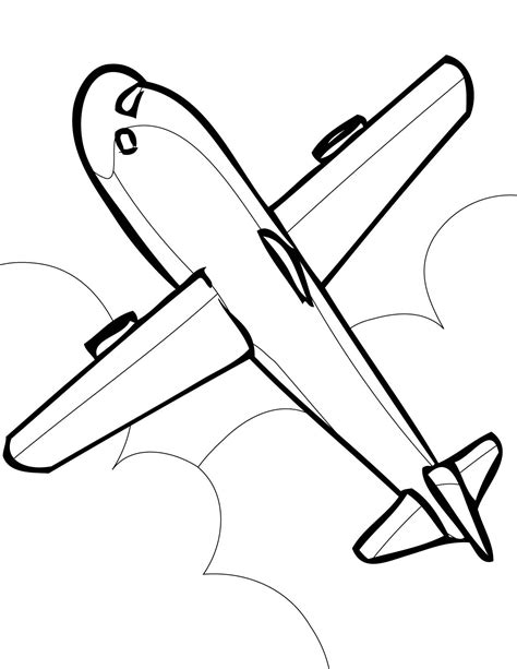 coloring page jet airplane jet coloring page new printable airplane coloring pages