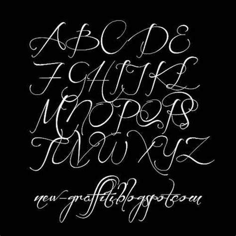 grafitys cursive graffiti writing alphabet