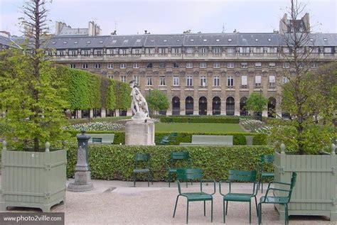 jardin du palais royal photo paris jardins du palais royal