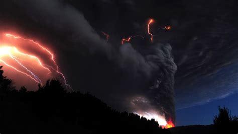volcano lightning wallpapers group