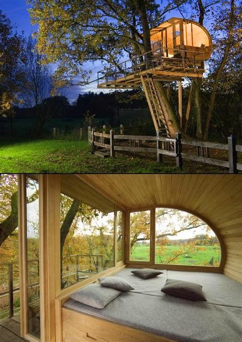 small spaces in nature treehouses home design garden