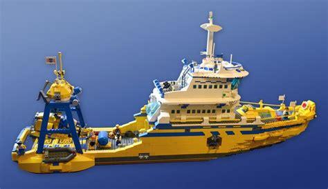 lego deep sea fishing boat ultimate lego ship ship moc lego boats ships