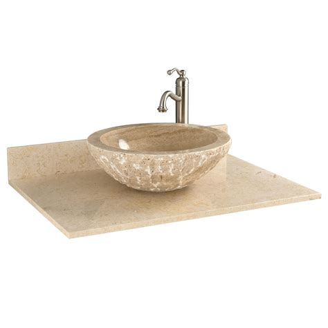 Vanity Top For Vessel Sink by 25 Marble Vanity Top For Vessel Sink No Faucet Drilling