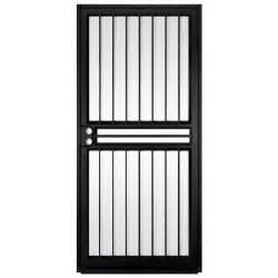 home depot security doors unique home designs 36 in x 80 in guardian black surface