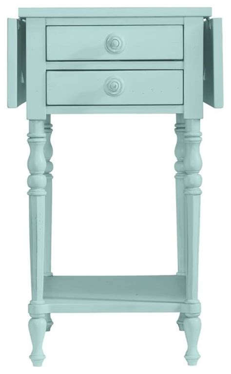 cottage style end tables coastal living cottage chesapeake table style