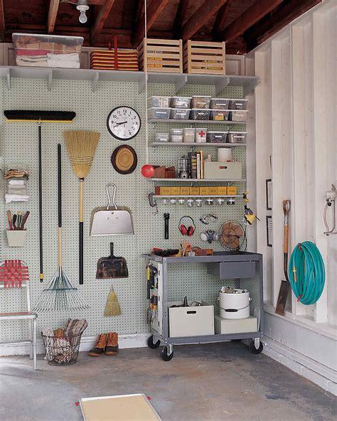 Organizing Shed Ideas by Garage And Shed Organizing Ideas Martha Stewart