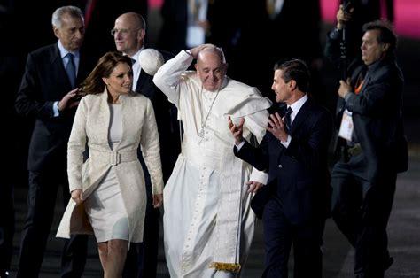 2016 el papa en mexico francisco en m 233 xico minuto a minuto un mill 243 n de