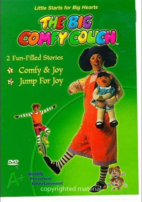 the big comfy couch comfy and joy big comfy couch comfy joy jump for joy dvd 2003