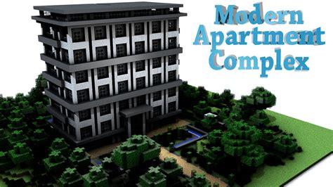 Minecraft Apartment Layout Modern Apartment Complex Minecraft Project