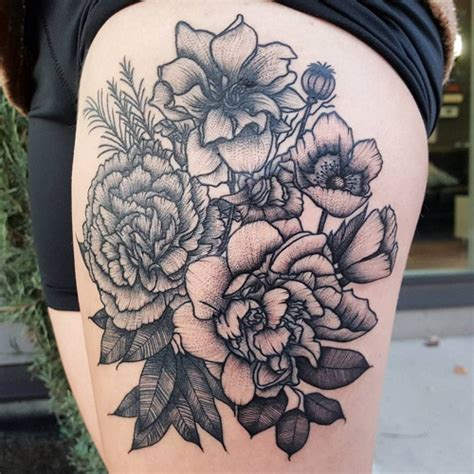 carnation tattoos designs ideas and meaning tattoos for you