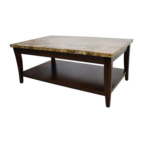 used coffee table 71 marble and wood coffee table tables
