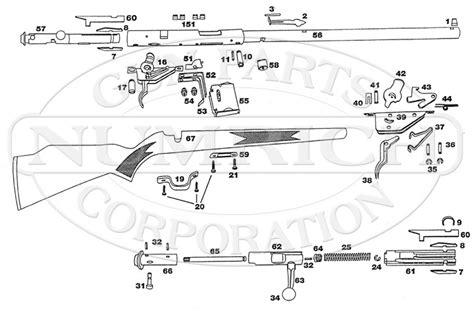 savage model 110 parts diagram 93r17 schematic numrich