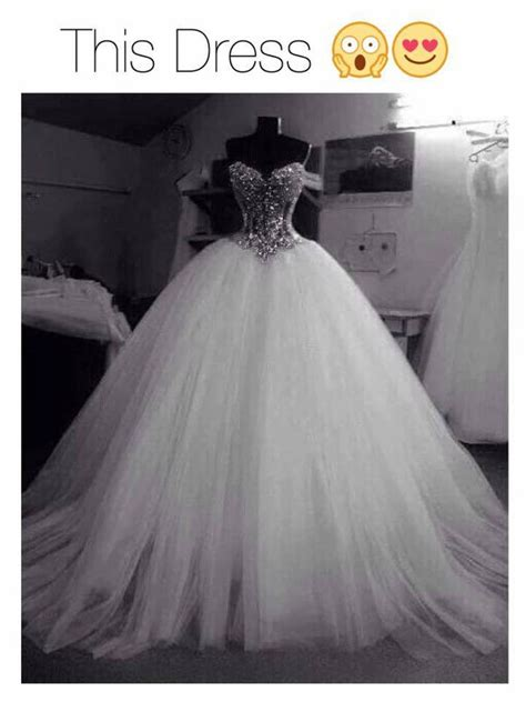 Wedding Dresses Poofy by Dress Wedding Dress White Bling Beautiful Gown